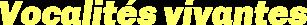 Rhizome – Vocalités vivantes Logo